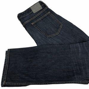 Bonobos Straight Dark Wash Jeans Size 35x32 Men's